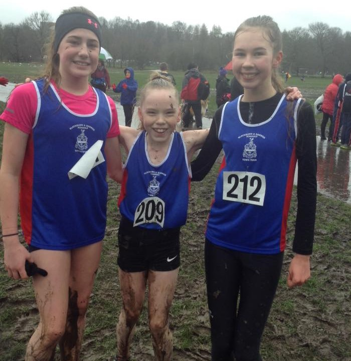 Lancs  Schools XC Championships at Witton Park 06.02.201