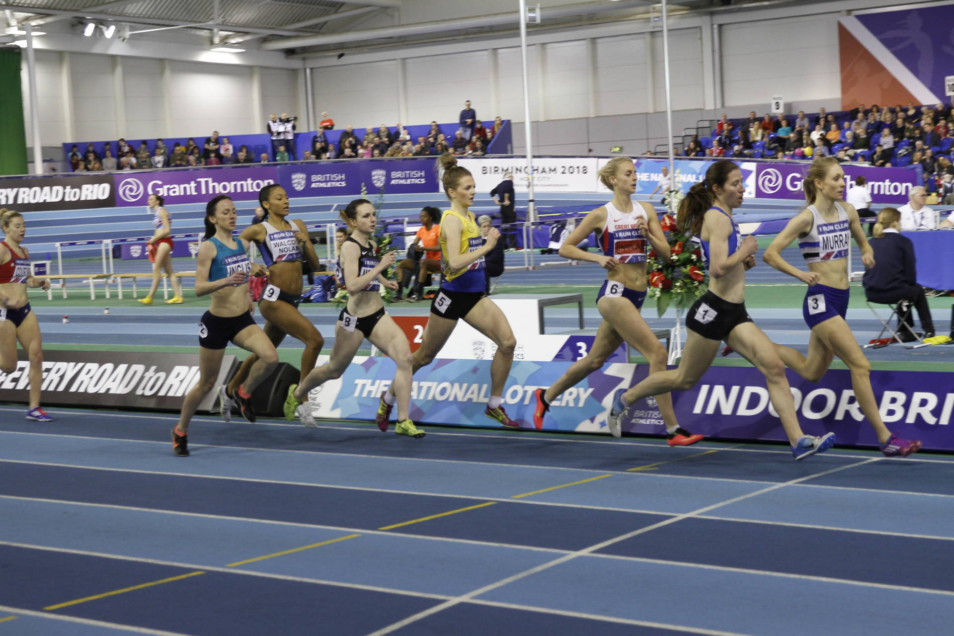 Alison Wins Silver at British Indoor Championships