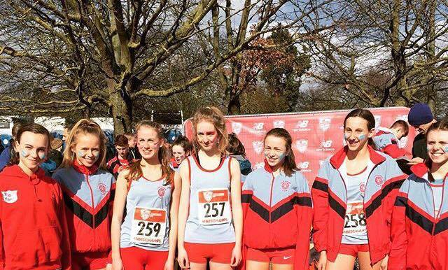 English Schools with Harriers Youngsters – Team & Individual Wins at Ron Hill 10k – Stan Bradshaw Round – 4 Harriers PB at Podium 5k