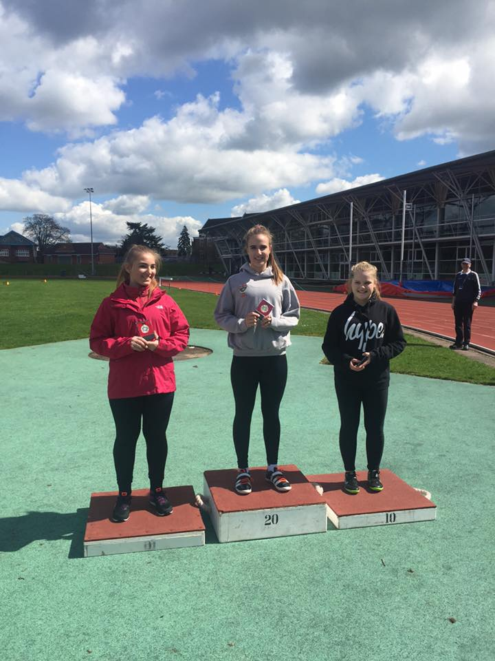Gold for Charlotte and Silver for Jacob – Medals & PB's at Lancashire Combined Events for the Harriers