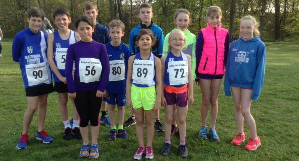 Astley Park Trail Series with the Harriers Youngsters