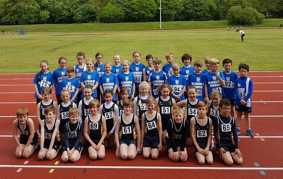 A Win for Blackburn Harriers Sportshall Group – v – Kirkham Grammar School