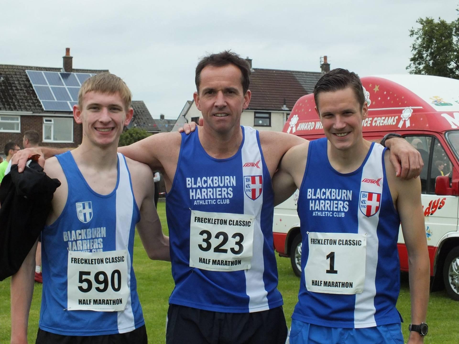 Harriers win the Team at Freckleton Half-Marathon & The Trailblaster 12 Hour Endurance Relay