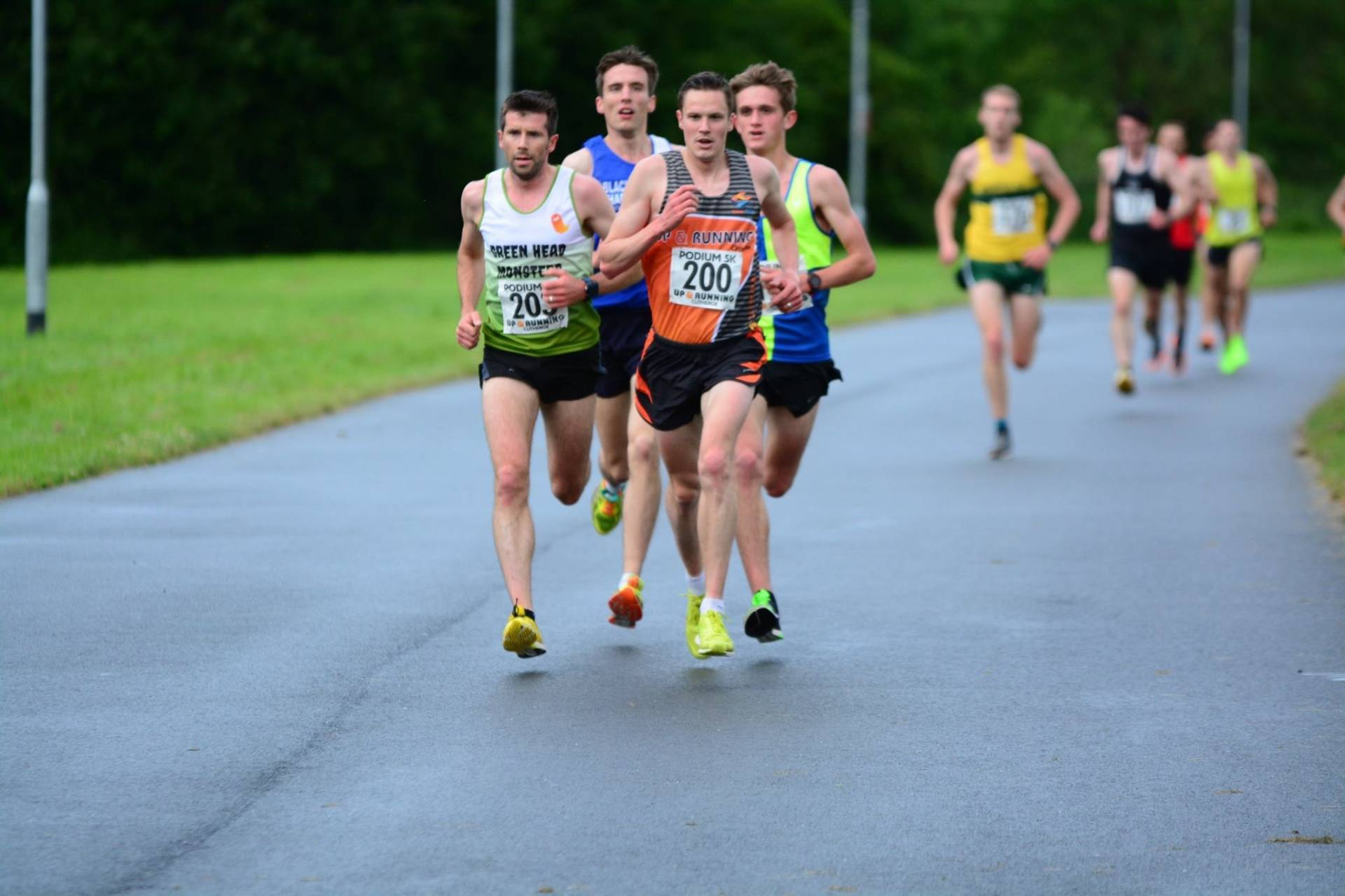 Ben wins Barrowford 5K & PB's for Harriers in Grand Prix Series – 2nd for Jack in Aggies Race – Top Ten for Chris at Horwich