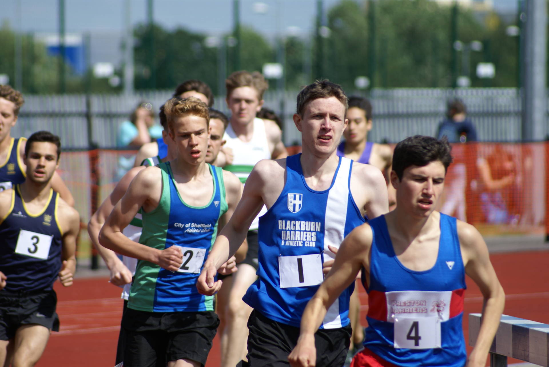 On Track & Field with the Harriers – Mid Lancs – Northern League – BMC at Stretford