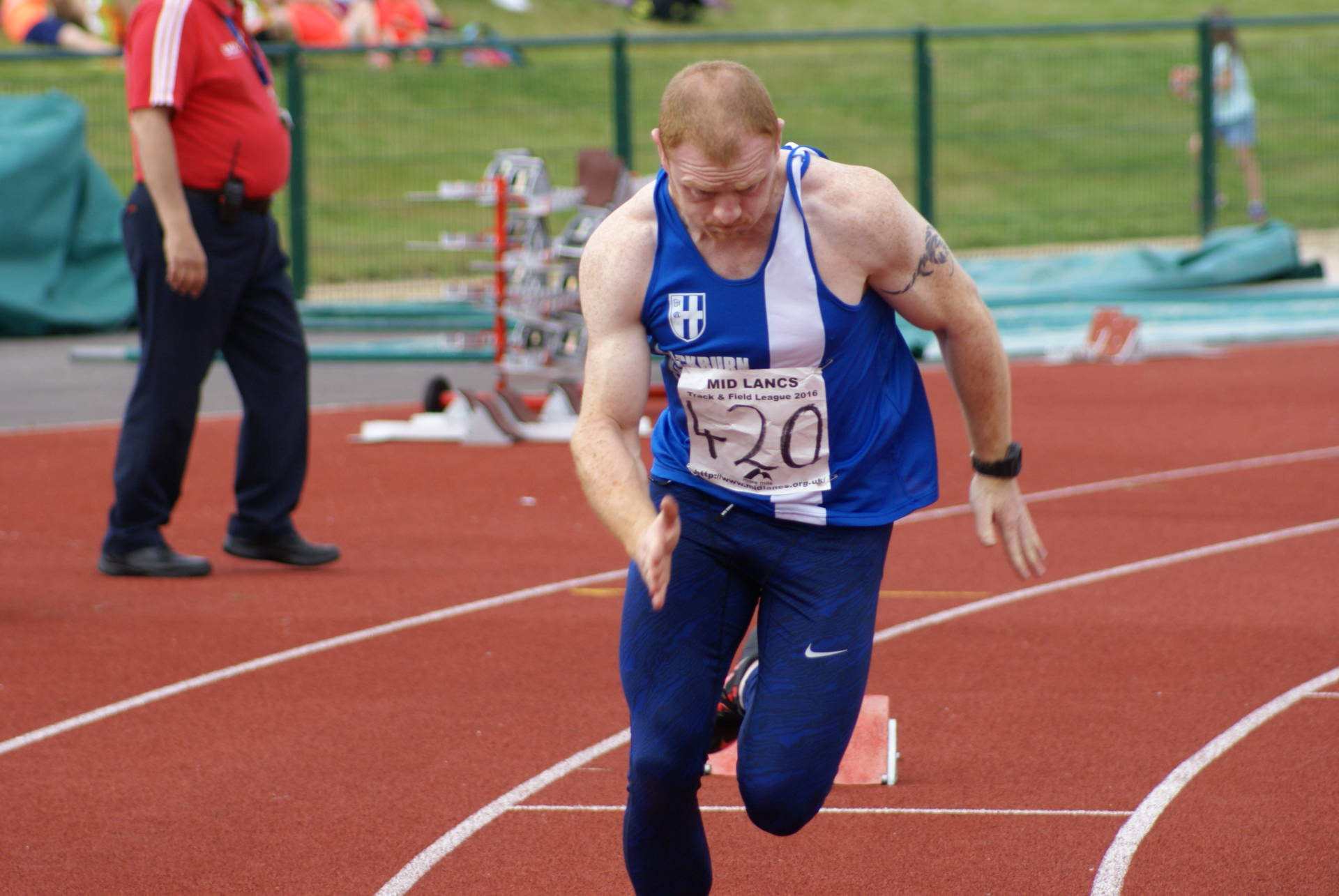 PB's for Harriers athletes at Mid Lancs League