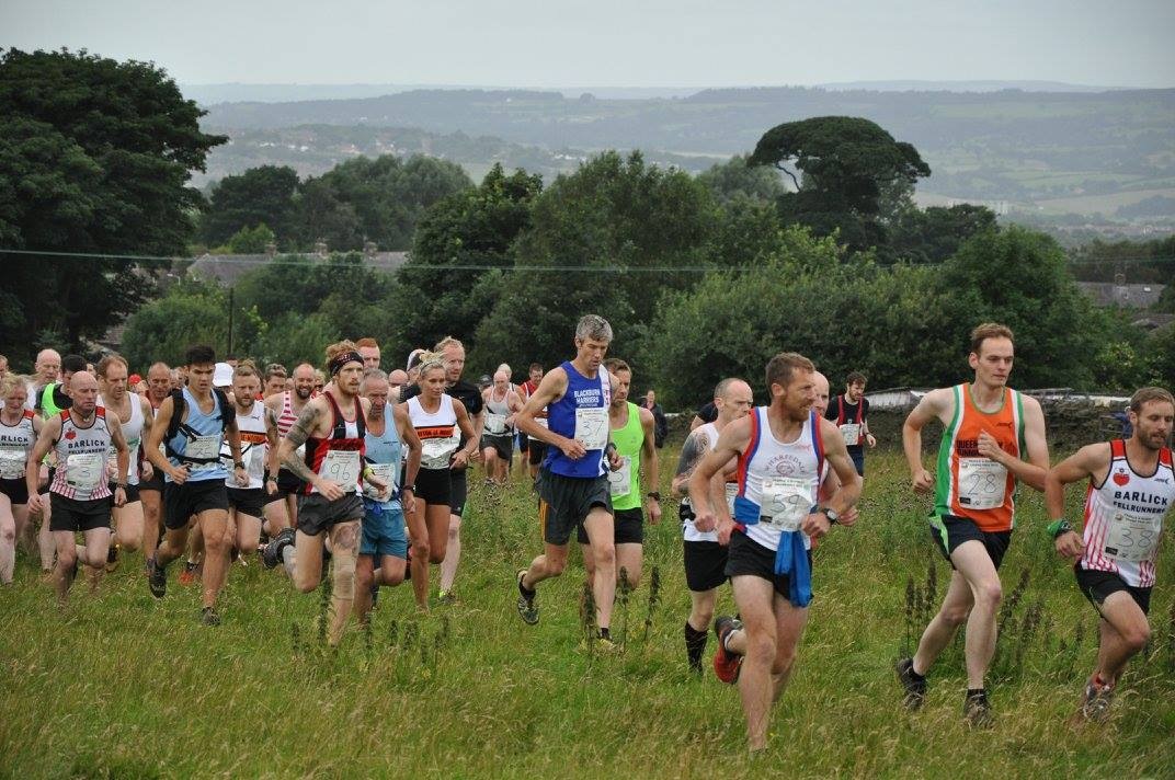 Top Three finish for Chris at Worsthorne – Air Show 10k – Andy tackles 'brutal' Borrowdale