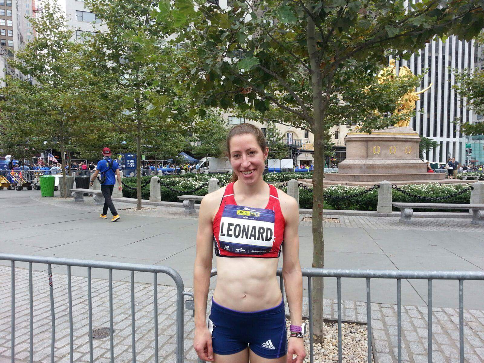 Alison smashes her Mile personal best in New York's Fifth Avenue Mile Race