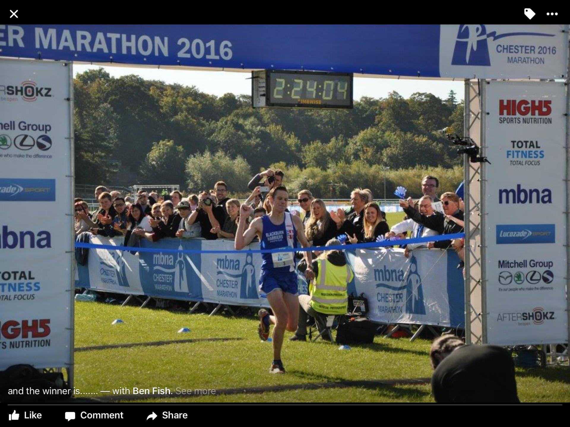 Ben Wins Chester Marathon – Chris and Shaun win 10k's – Joe smashes his PB at York 10mile – Mid Lancs League
