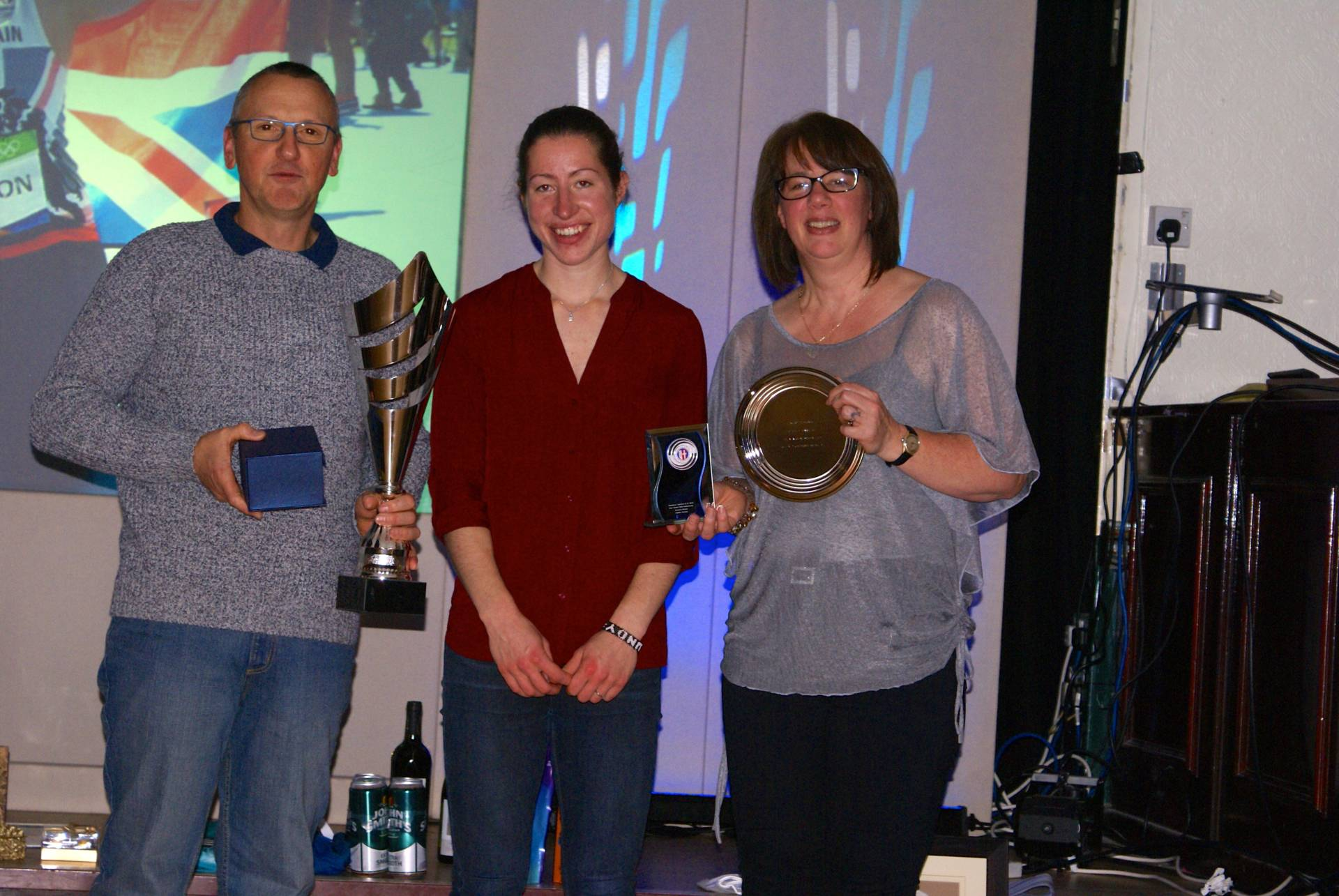 Celebrating Harriers athletes success at the Club's Annual Awards Night