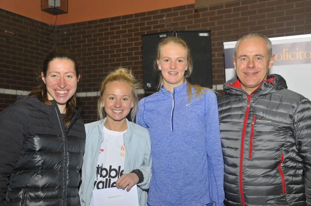 (Northern Women's Team Gold for Blackburn Harriers - Alison Leonard, Rachel Wood, Liz Greenwood)