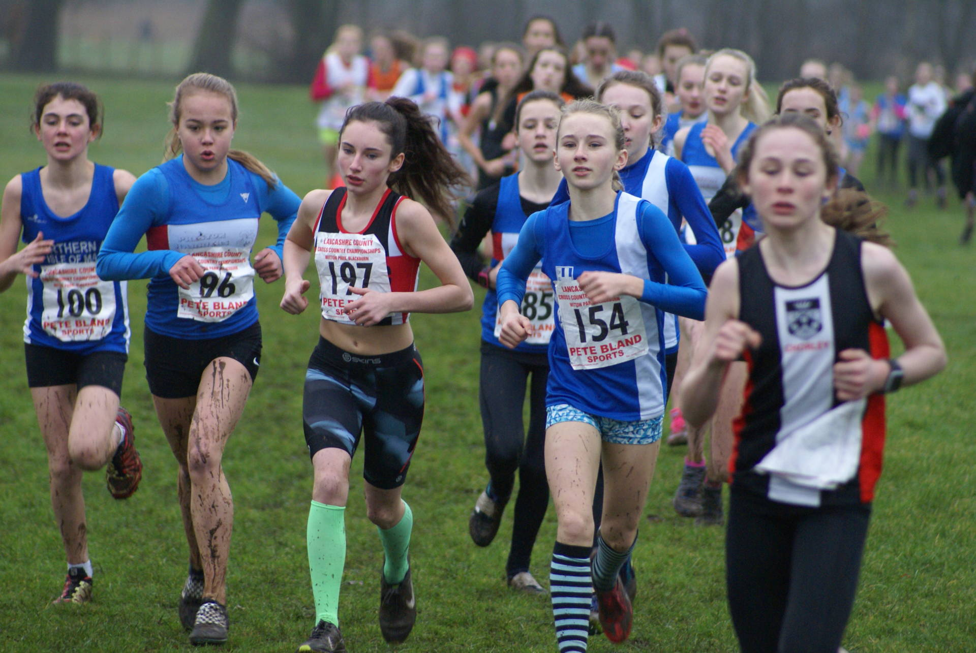 Seventeen Team & Individual Medals for the Harriers at Lancashire County Cross Country Championships