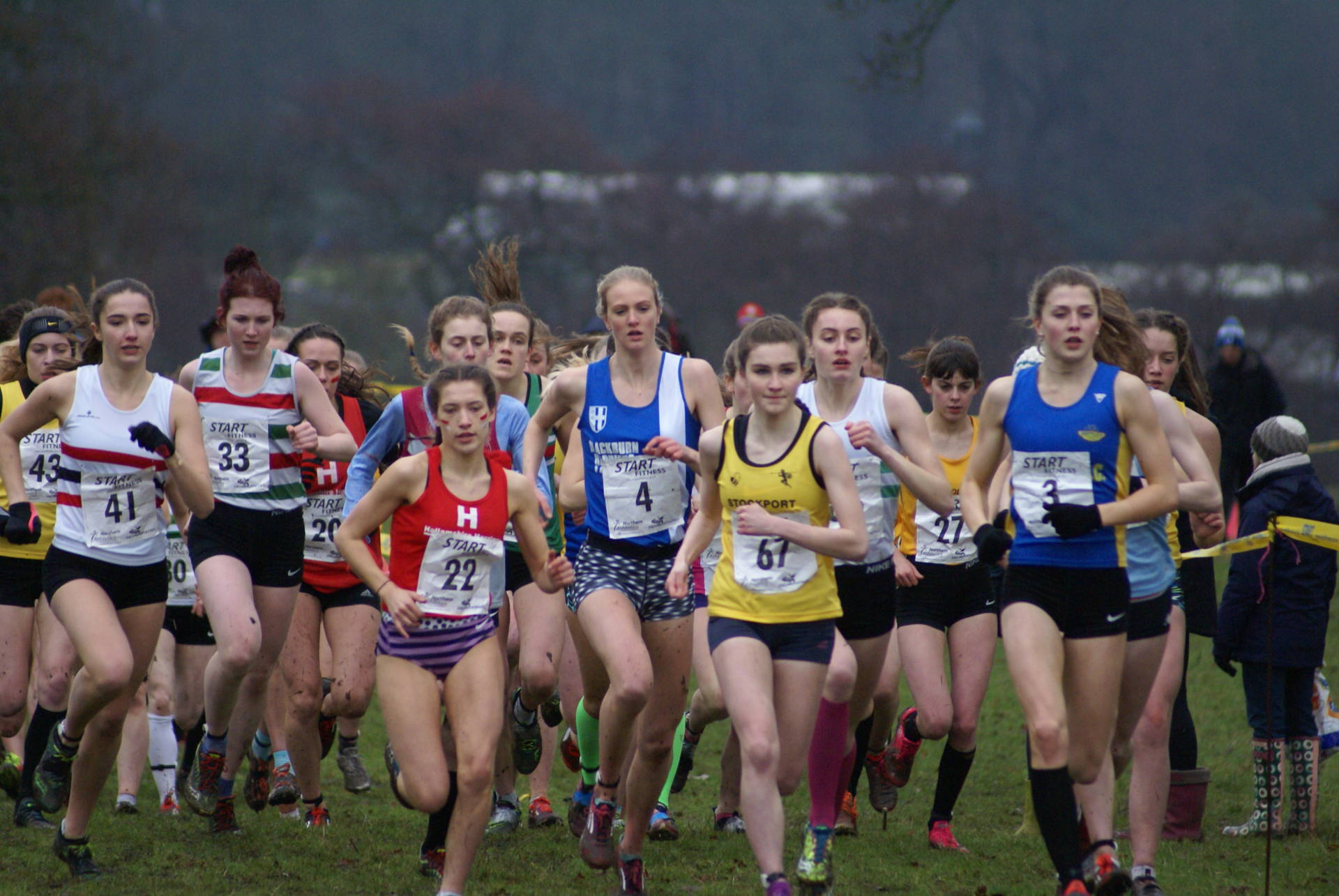 Northern Cross Country Championships & Harriers Youngsters Post Wins and PB's at Sportscity Indoors