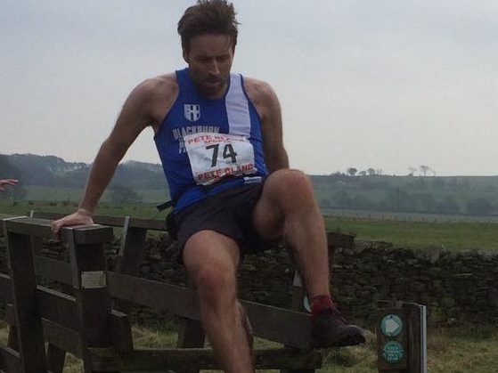 (Andy Heys at Bleasdale Fell Race)