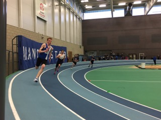 One Gold and Four Silver Medals for Mike at British Masters – New PB's for Harriers young athletes at Sportscity Indoors