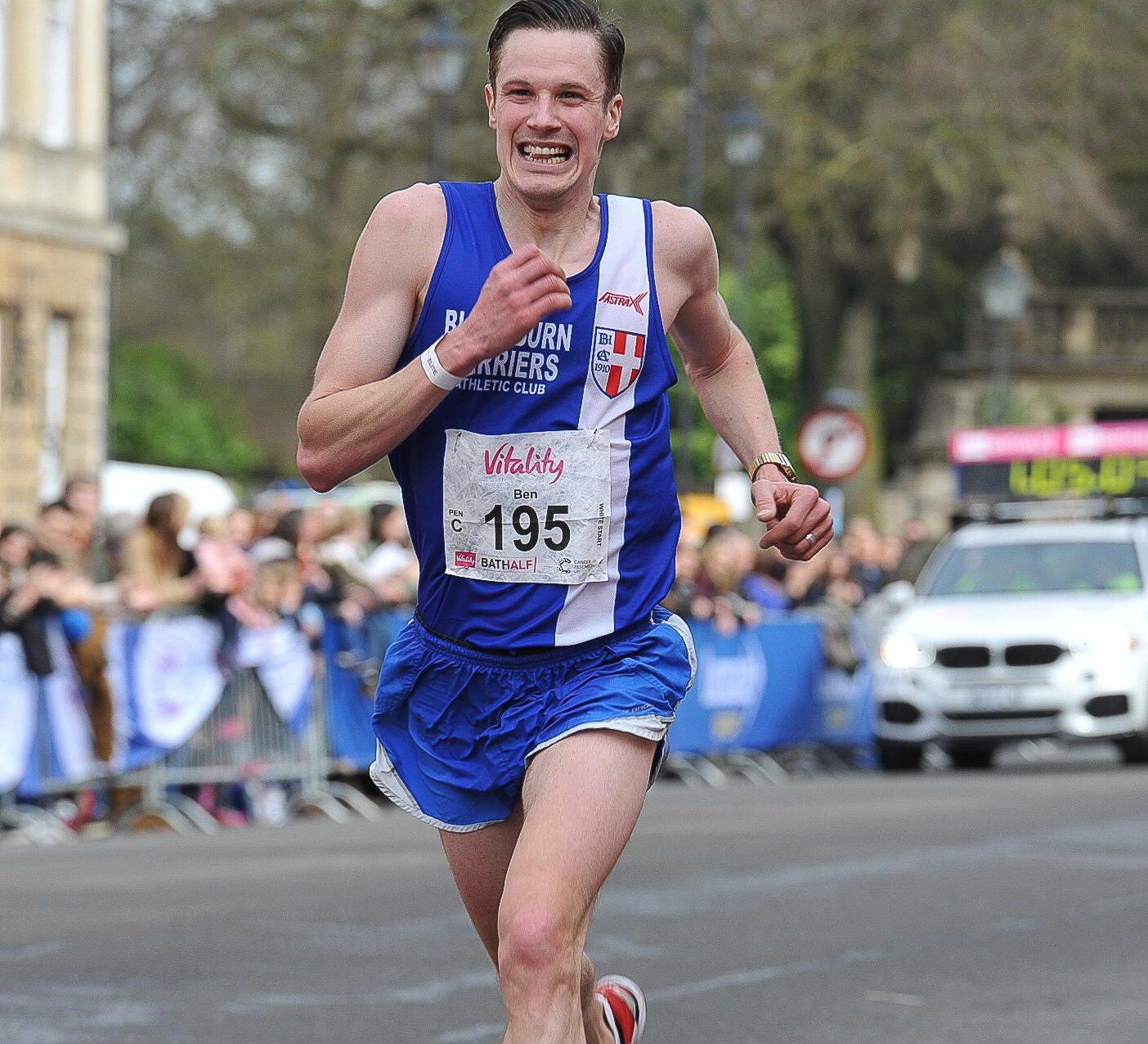 Ben does the double at Bath and Hastings Half-Marathons – New PB's for Harriers at Podium 5k – Harriers at Inter-Counties & English Schools XC Championships – Bispham 10 and Roddlesworth Roller