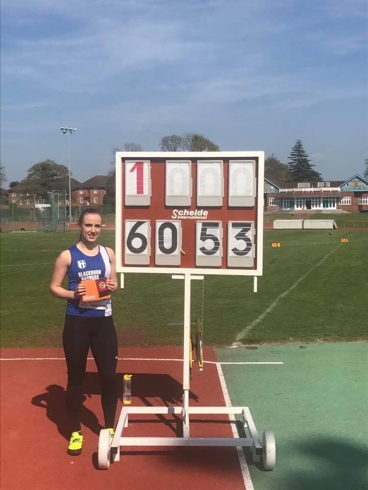 New Hammer Club Records and PB's for Charlotte & Jacob – new Hammer PB for Nathan – Watford Open – Garstang & Fastrax
