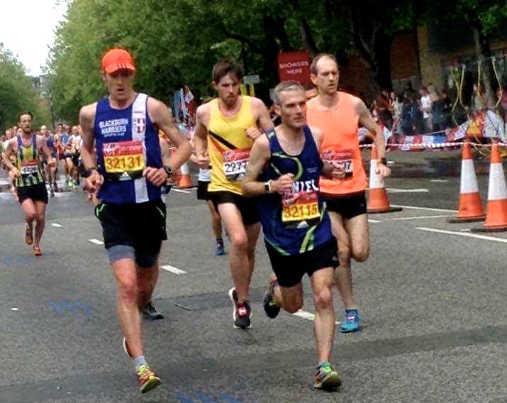 New Marathon PB's for Chris in London and Claire at Blackpool – Joe Wins Blackpool 10k – Pauline Wins Bolton 10k