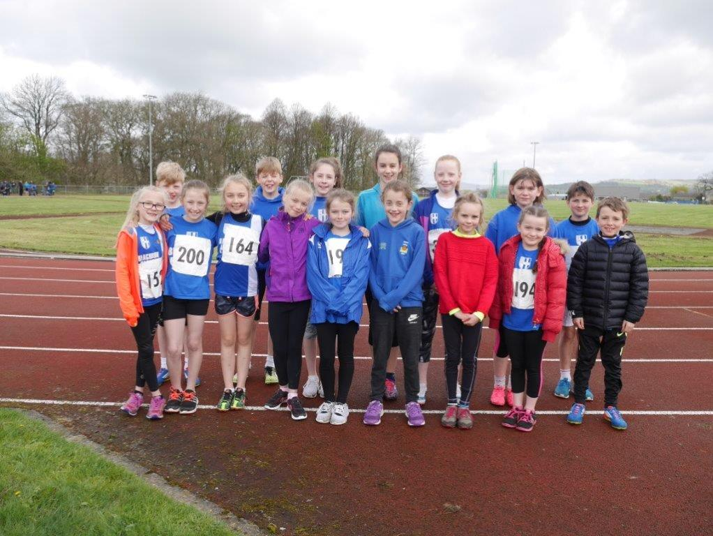 14 Medals for Harriers youngsters in the Quadrathon – Watford Open – Wins for Harriers young athletes at Trafford Open – 2 Wins for Tony in Northern Veterans T & F League