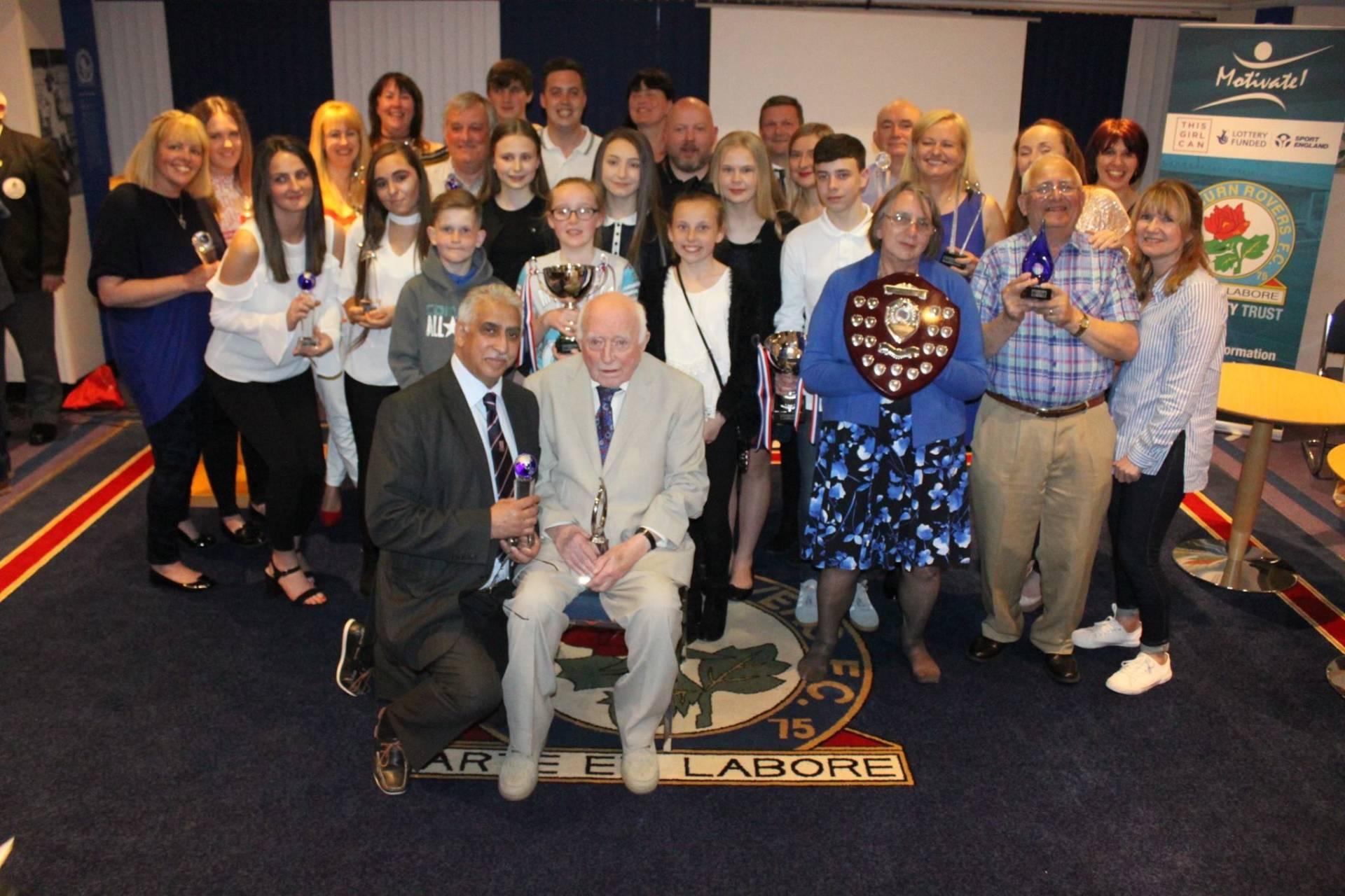 George Kirby – President of Blackburn Harriers Honoured by Blackburn With Darwen Sports Council
