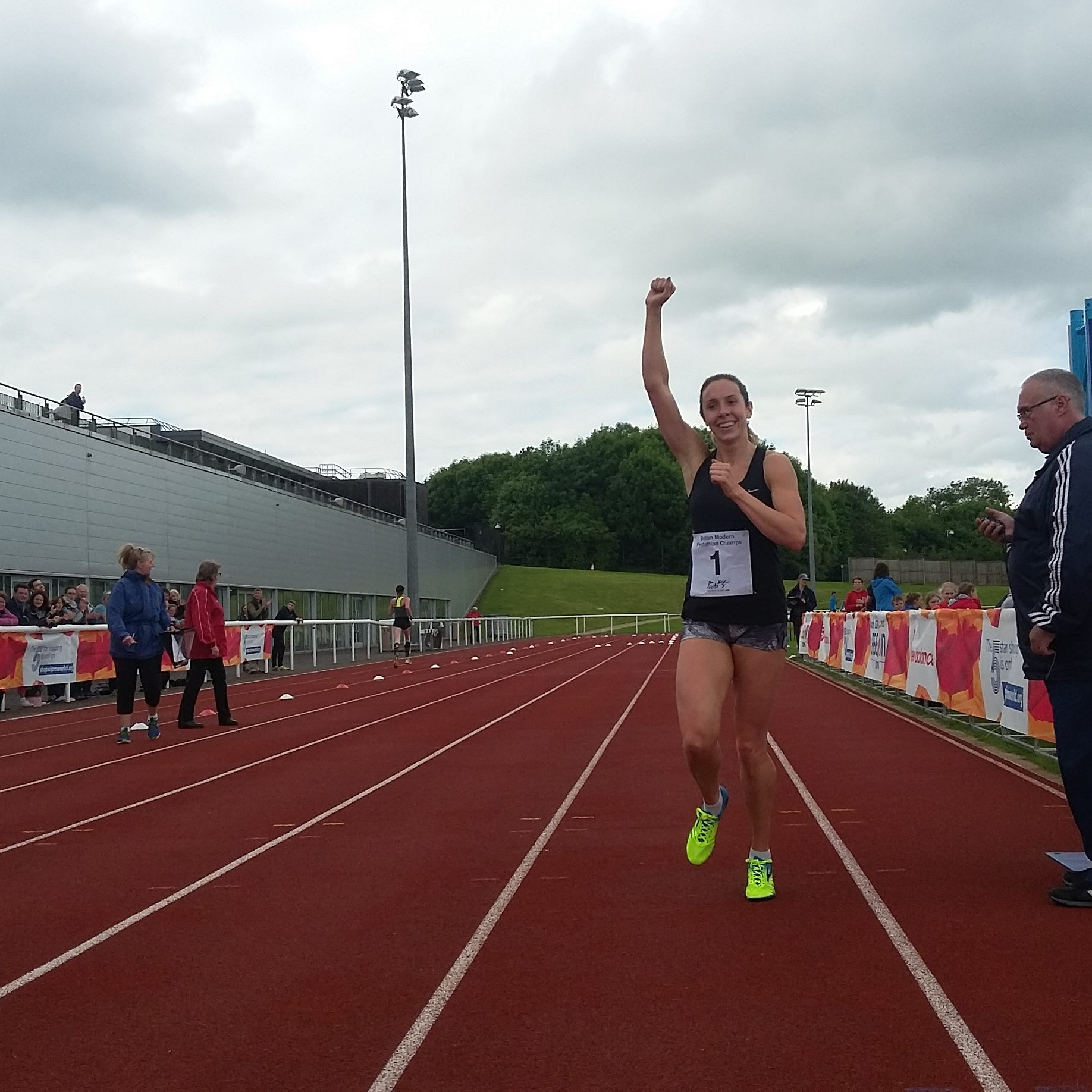Samantha wins British Title and qualifies automatically for European Championships