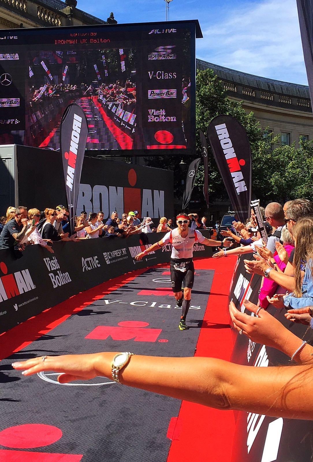Brian has a brilliant Ironman — Rob runs back to back 1500m PB's — Dexta Wins Cracoe Fell Race