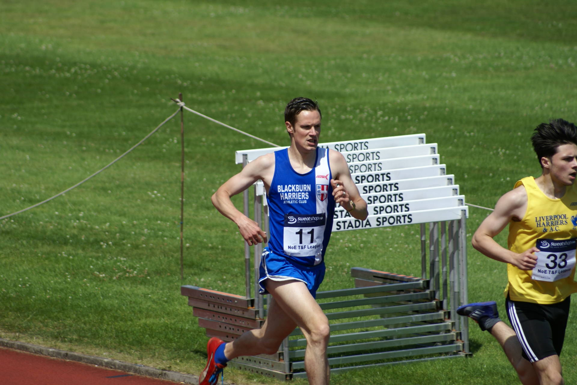 Charlotte wins Bronze in Dublin International – – Jacob 2nd in Cardiff International – – Northern T & F League