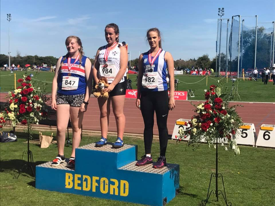 Charlotte wins Silver at National Championships — Harriers Medals and PB's at Mid Lancs Medal meeting — Rob wins Watford 3000m — Joe is 1st Junior Man — Cookson's on Tour!!