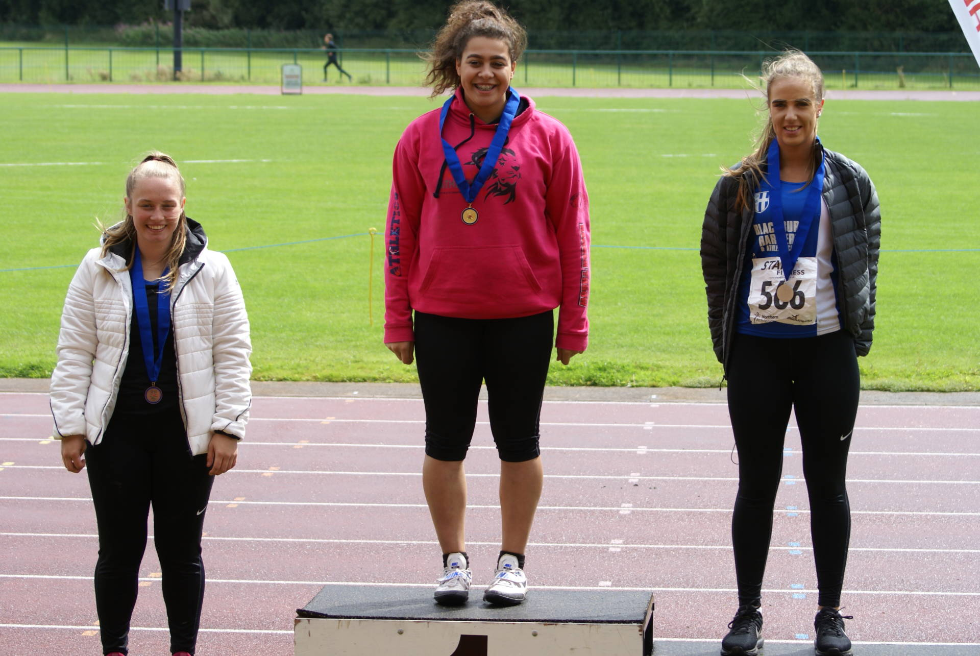 Medals and new PB's for Harriers at Northern Championships – Tim sets 3000m PB at Trafford – Dexta and Felix winning the Trophies