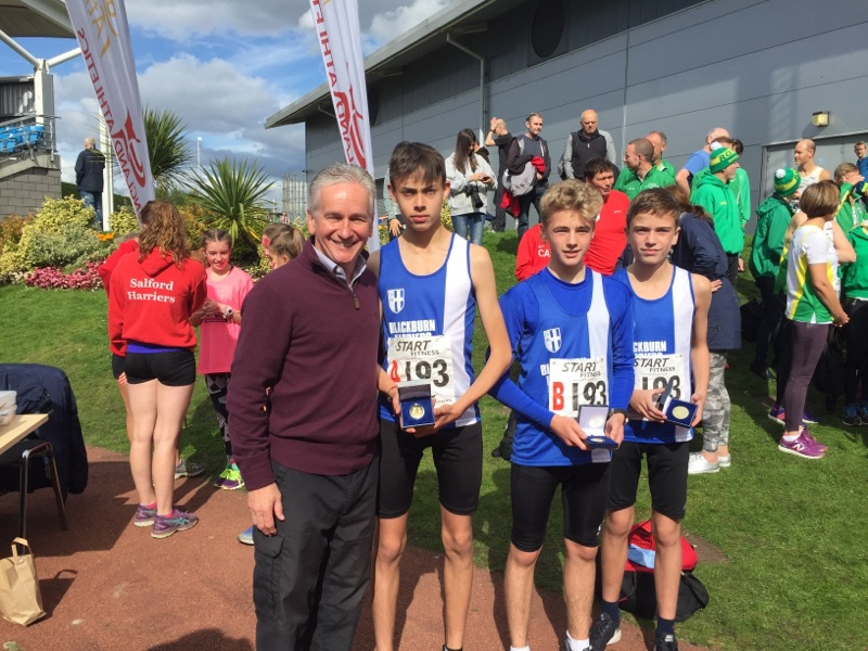 U15 Boys win Gold and U13 Boys win Silver at Northern Road Relays – Ben Fish 3rd Fastest Leg in Senior Men's Relays