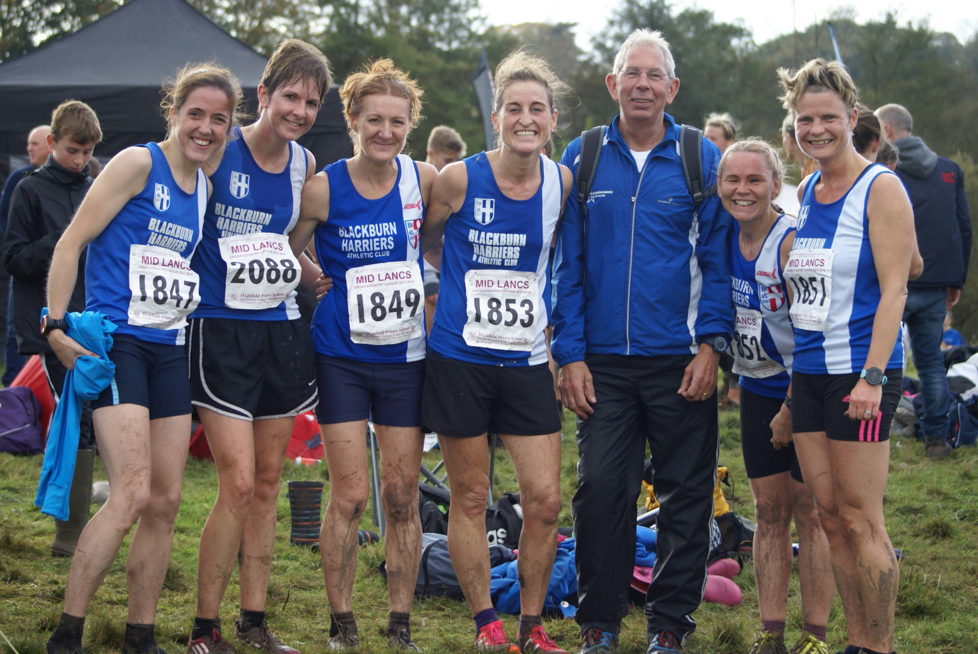 Great weekend for the Harriers with XC wins in Mid Lancs Red Rose & Leagues – Rob makes top 20 in Cardiff – Joe smashes Half-Marathon PB in Manchester – Pauline wins Cheshire 10k in new Course Record
