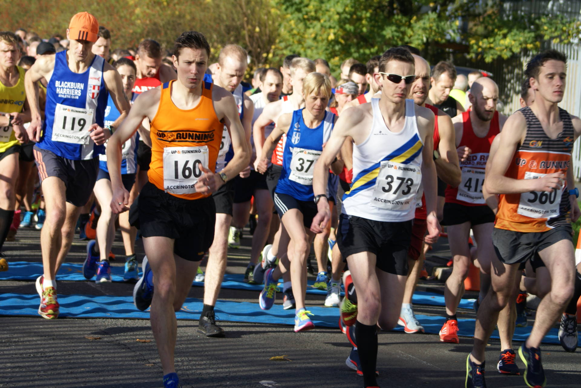 Accy 10k wins for Ben & Pauline  + Harriers Win Men's and Women's Team and 5 wins in Vet Categories – 2nd for Joe at Green Drive 5 – Grand Day Out In Cumbria with John Orrell – Clare runs the Yorkshire Marathon