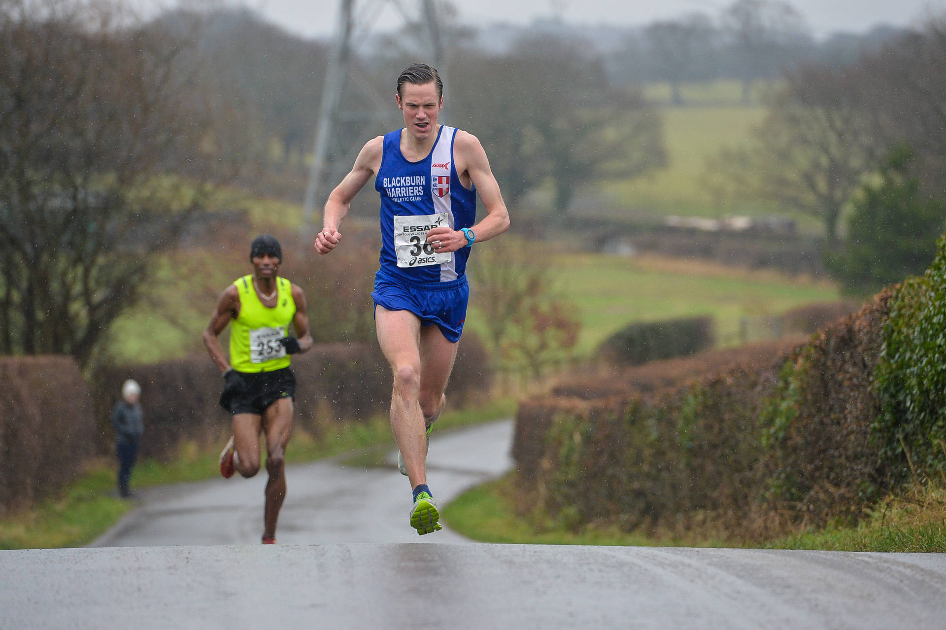 Ben Wins Four Villages Half-Marathon – Chris & Paul set new PB's at Inskip Half-Marathon – Ben PB's at Sportscity – Lindsay & Lorna running London Marathon for good causes