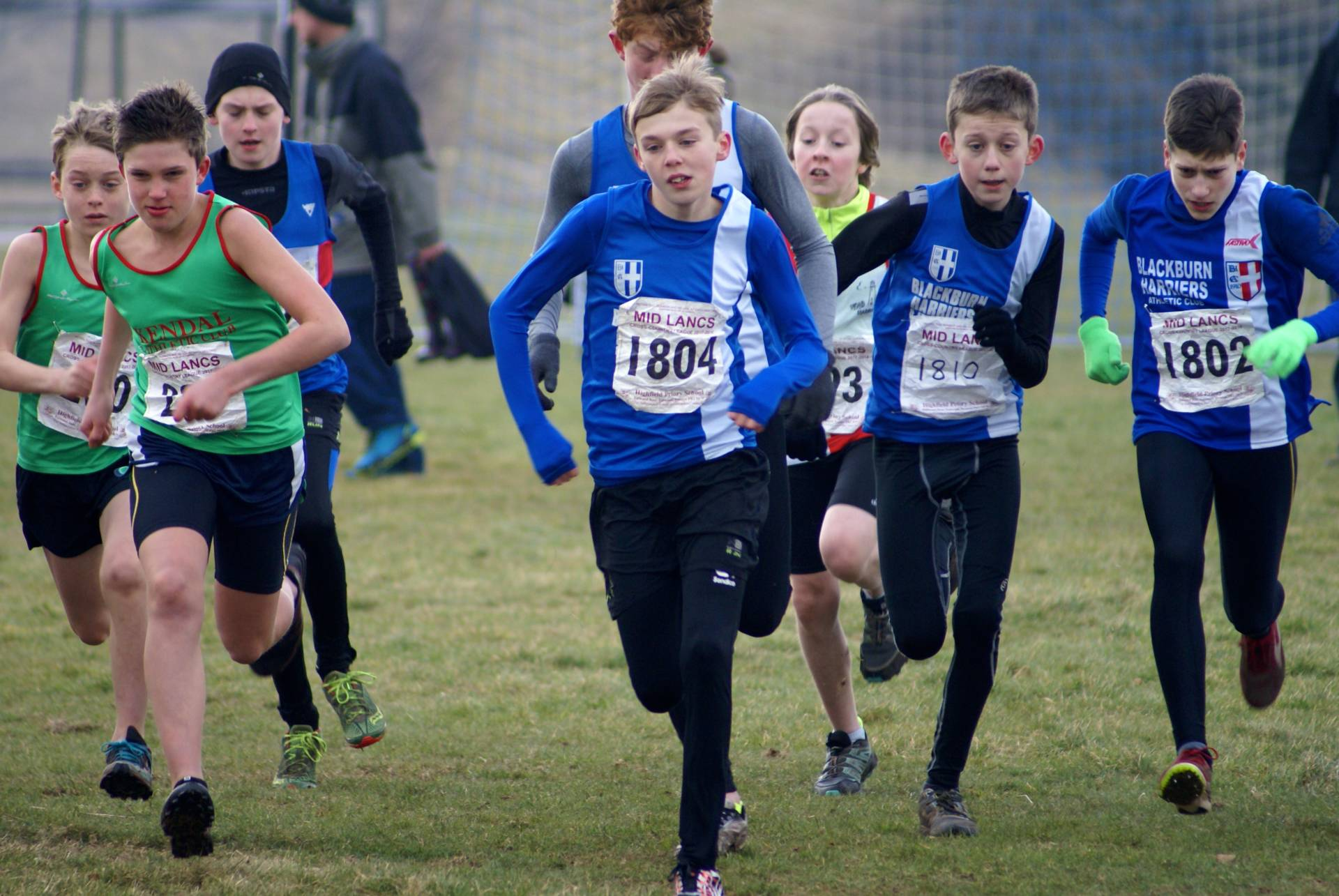 More Wins and Medals for the Harriers at Mid Lancs – Stan Bradshaw Pendle Round