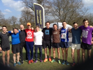 Top half finish for the Harriers at National 12 Stage Road Relays – PB's for Nicky and Win for Sam at Liverpool – Ellen debuts at Sheffield
