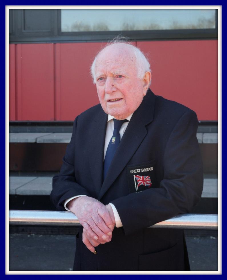 Happy 95th Birthday to Blackburn Harriers President George Kirby