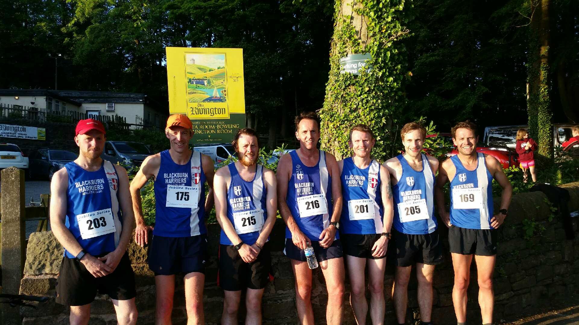 Ben Wins Horwich + Team, Vet  & Junior Wins  – Wholan Nook Fell Race – Hammer PB for Tony