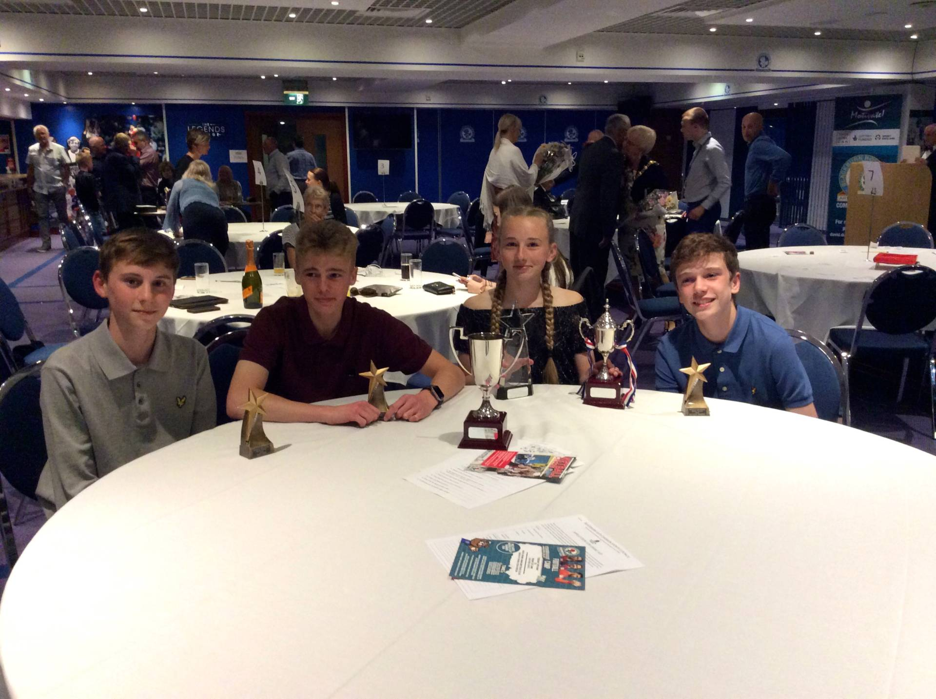 Harriers Win Awards at Sports Council Annual Presentation Evening