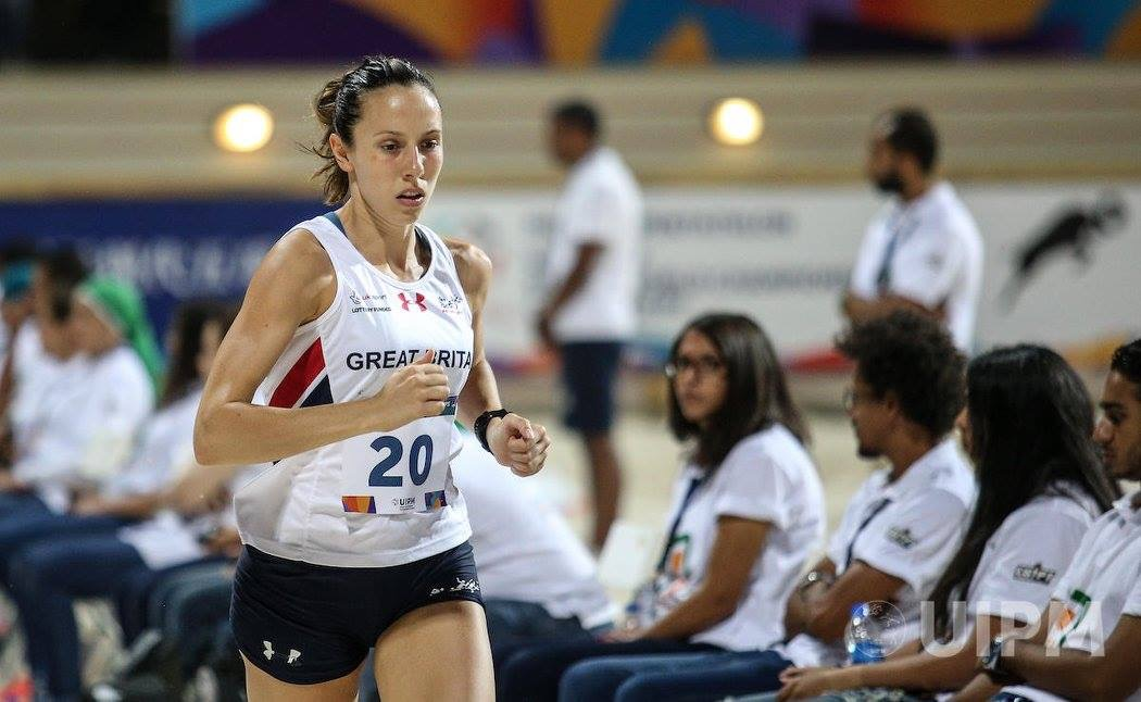 Samantha 11th at Modern Pentathlon World Cup in Bulgaria – Holly competing in Oregon Diamond League – Rob runs 1500m at Watford – Mid Lancs League at Hyndburn -Victoria Wins Catforth 5k – Burnley Lions 10k