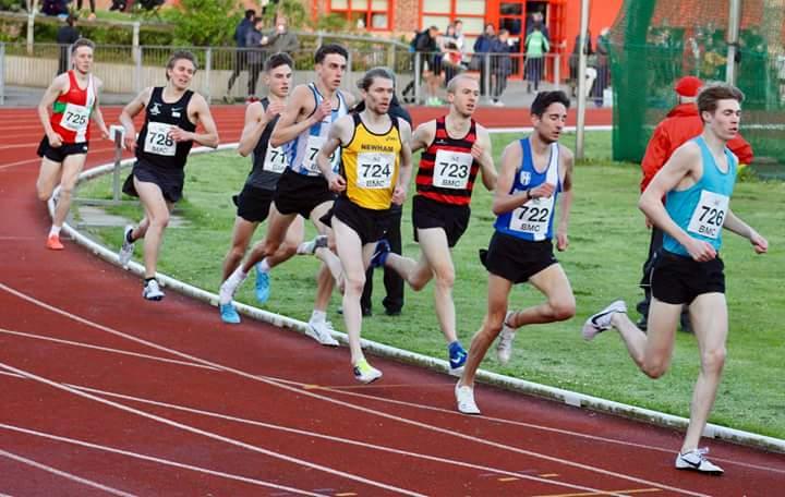 Rob opens Track Season in good form – Harriers at Anniversay Waltz and Three Peaks – Geoff Doggett Memorial 5k