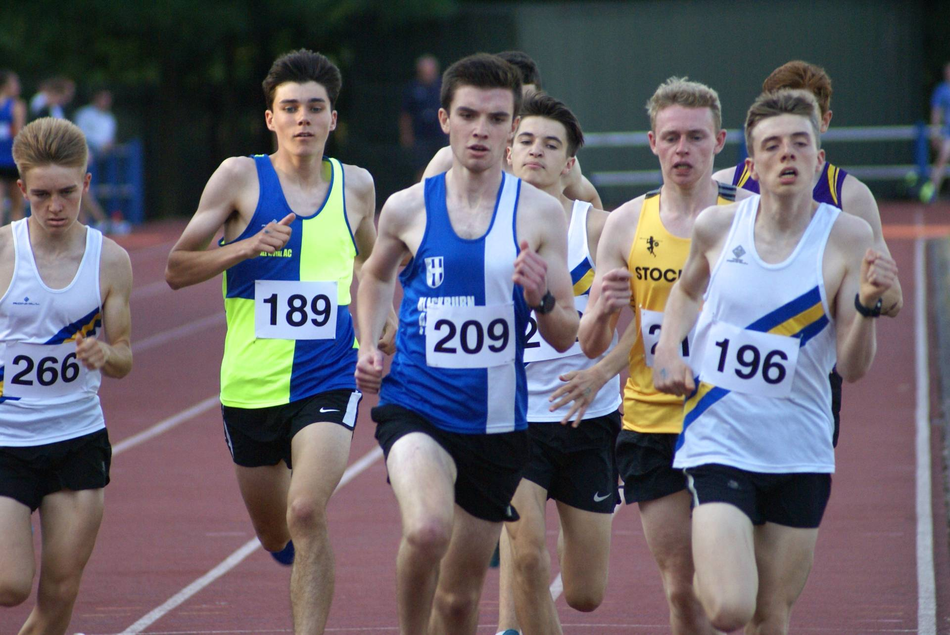 A win and new 1500m PB for James & New 1500m PB's for Sam and Harry at Trafford – Tony Wins Double Gold & sets two new PB's at Northern Masters Championships