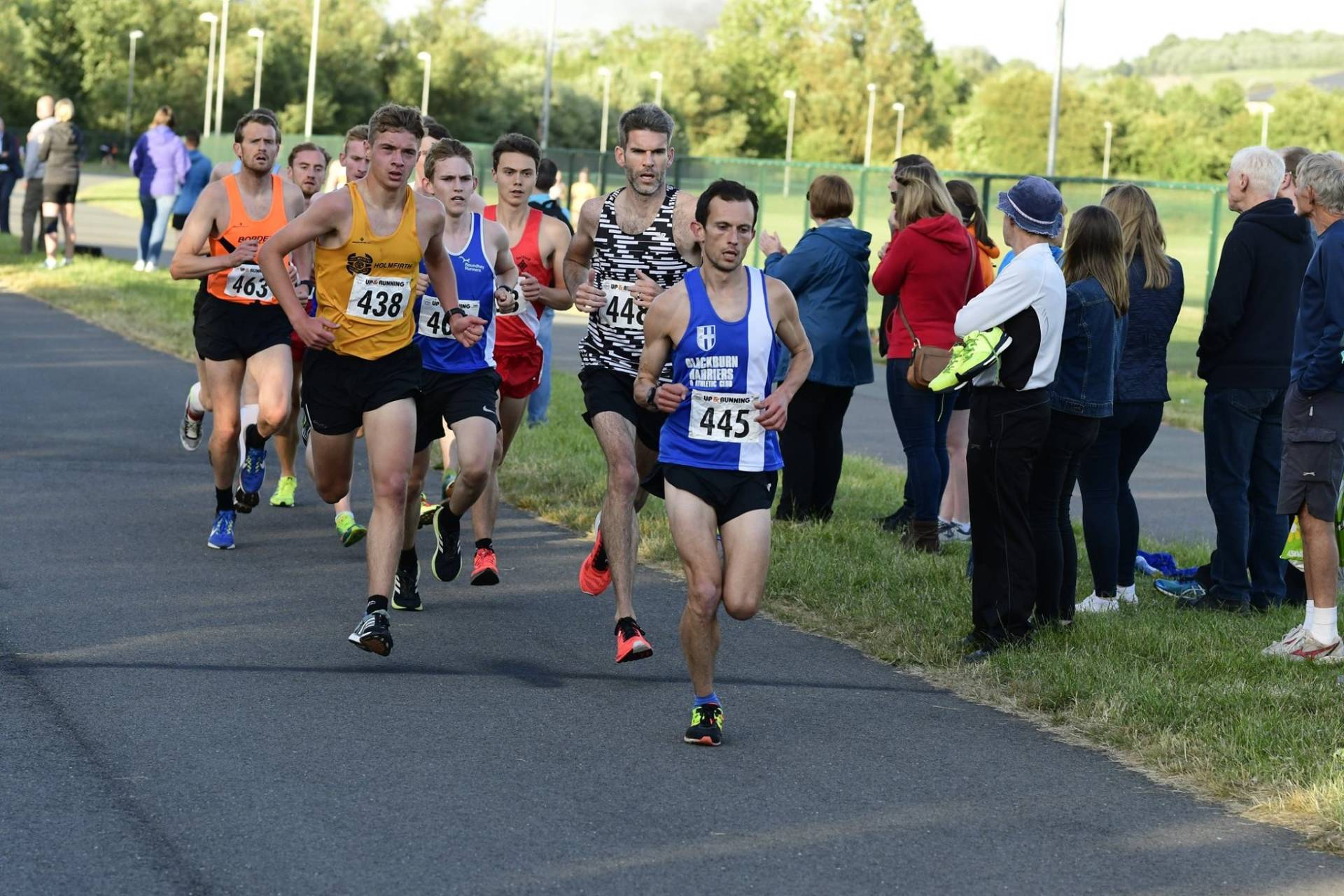 Harriers Win UKYDL Division 1 Match at Trafford to stay top – PB's galore at Podium for Harriers – Ben 2nd at Freckleton Half – Victoria 3rd V35 at BMAF 5k Championships – Pauline Wins Colshaw Hall 10k & breaks Course Record – Chris 2nd at Crazy Cow 10k