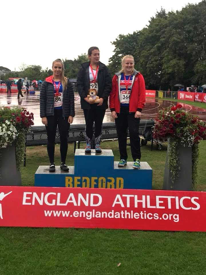 Charlotte Wins Bronze at National Championships – Tony Wins Bronze Medals at British Masters Championships – New PB's for Harriers at Mid Lancs Medal Meeting – Jess doubles on 1500m & 3000m at Watford – Top 5 for Thomas at Malham