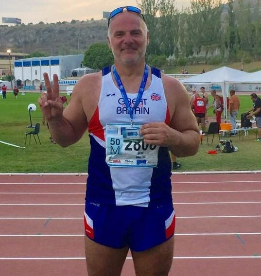 Tony sets New PB at World Masters in Malaga – New PB's for Harriers at Wigan Open – Ben in Top Five at Bury 10k