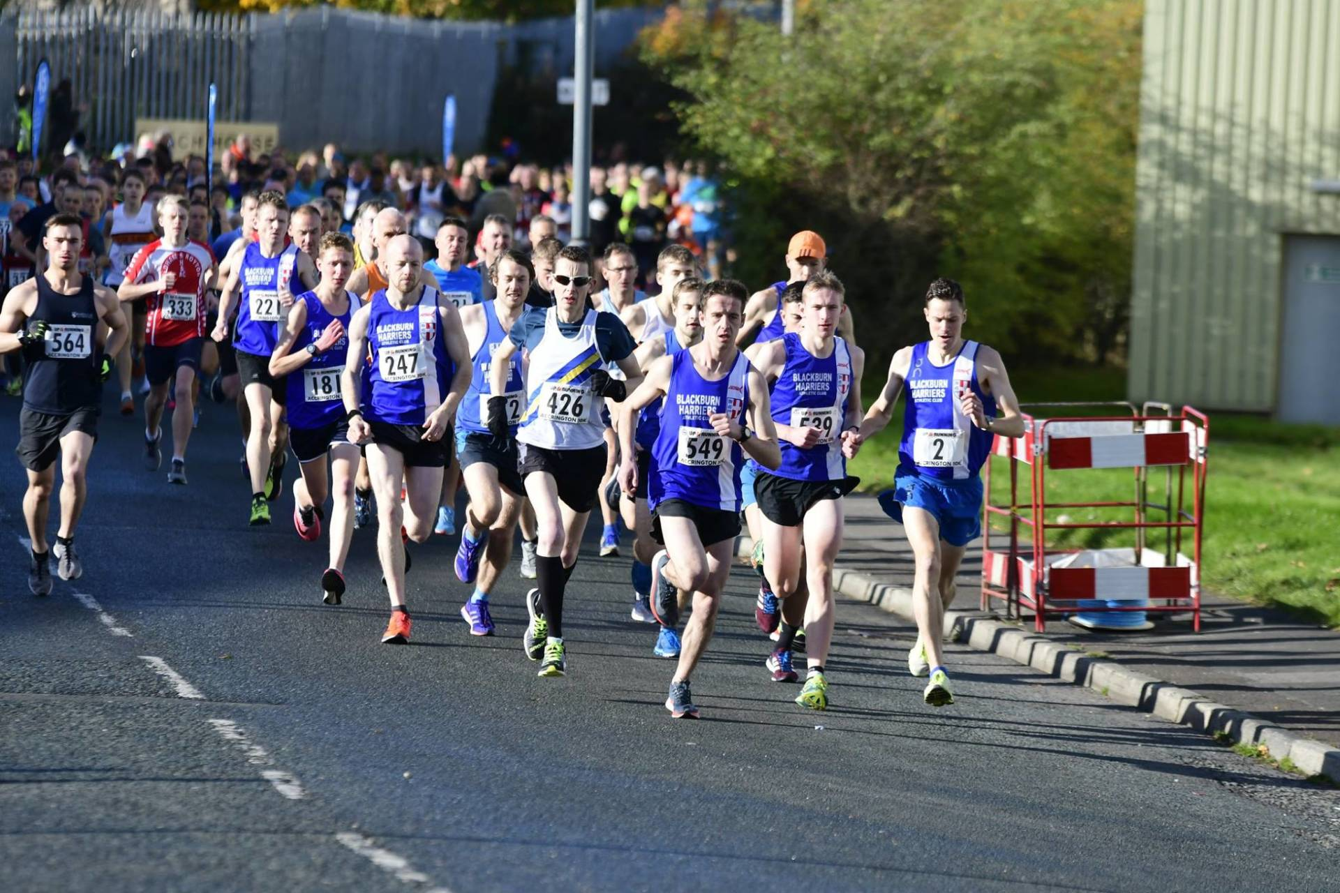 Clean Sweep for the Harriers at Accrington 10k – Great return to competition by Samantha