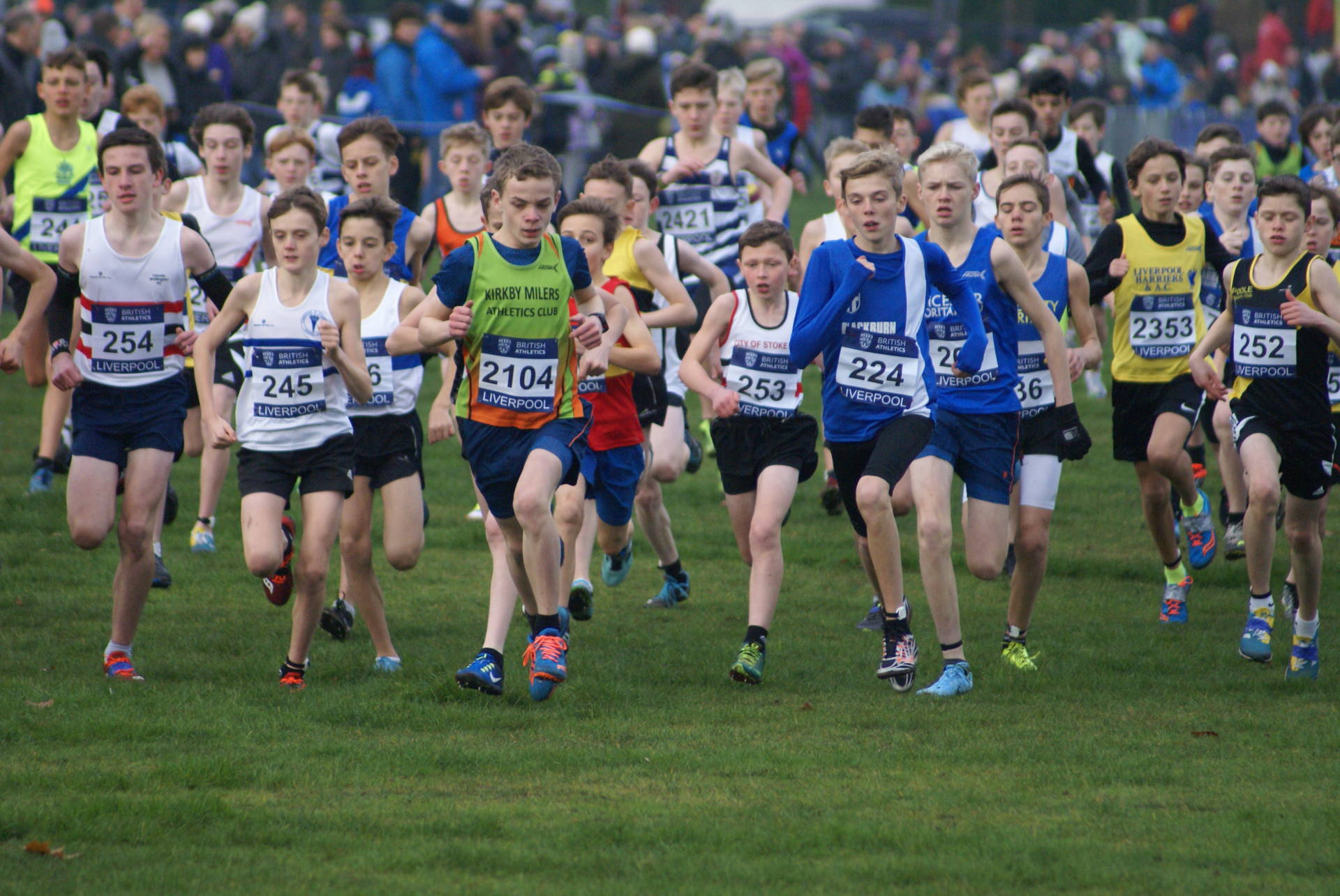 Cross Challenge & Mid Lancs with the Harriers – 2nd for Jack at David Staff Race – Top 20 for Jacob at Wilmslow 10k – Zach Medals & Saul sets PB at British Biathlon Championships