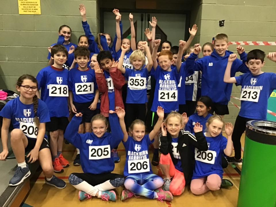Ben in top 5 at Percy Pud 10k – Wins for Ben and Jayden at Sportscity Indoor Meeting – Harriers qualifying for Lancashire Schools Champs – Sportshall kids Shine – Junior Endurance Monthly Award