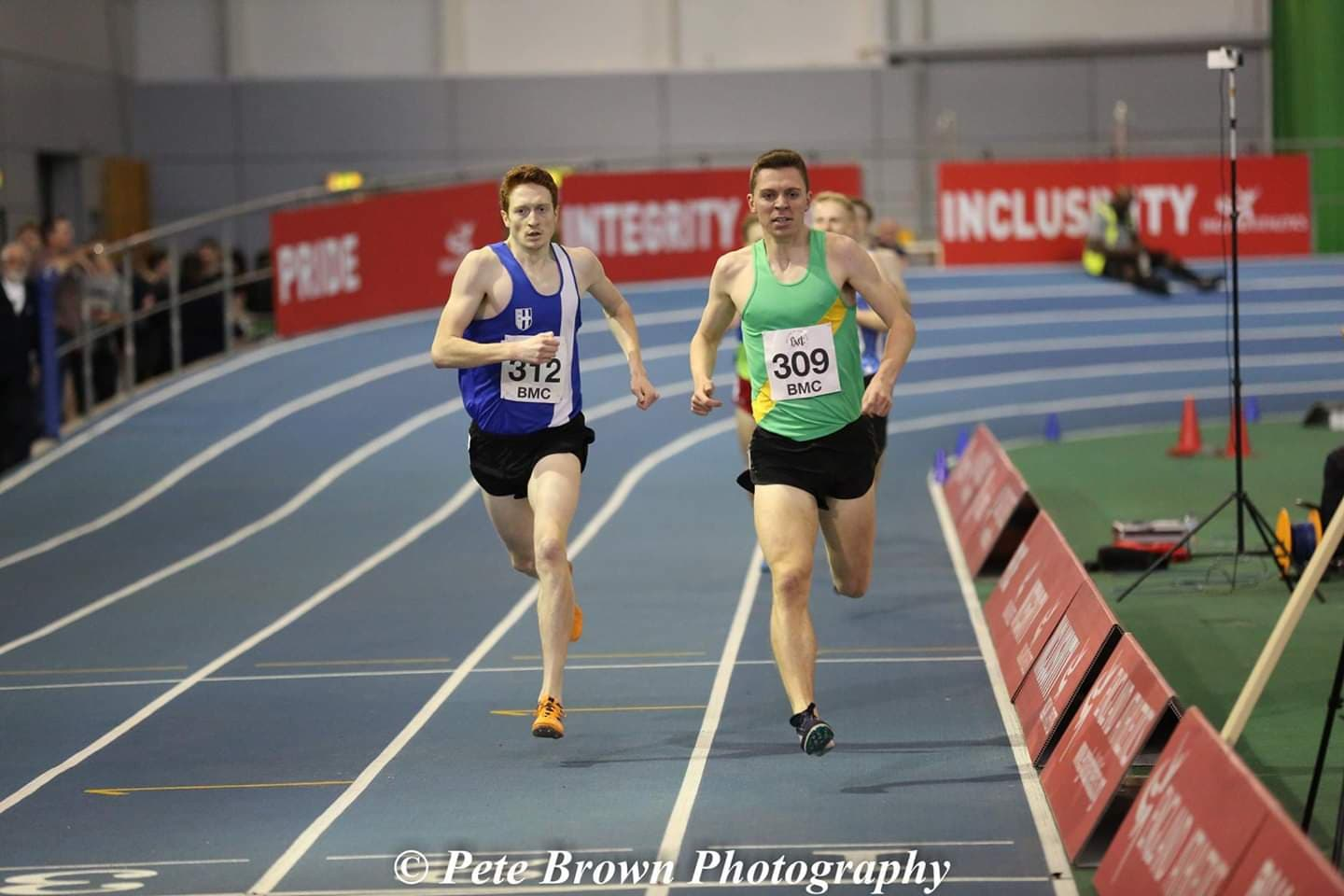 Good Indoor opener for Dominic at BMC – New PB's for Harriers Juniors at Sportscity Indoors – Out with the old and in with the new on the Fells