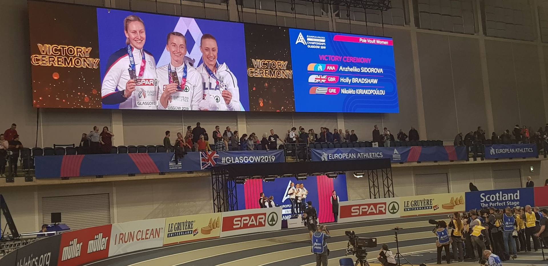 Holly is the Silver Medalist at the European Track & Field Indoor Championships