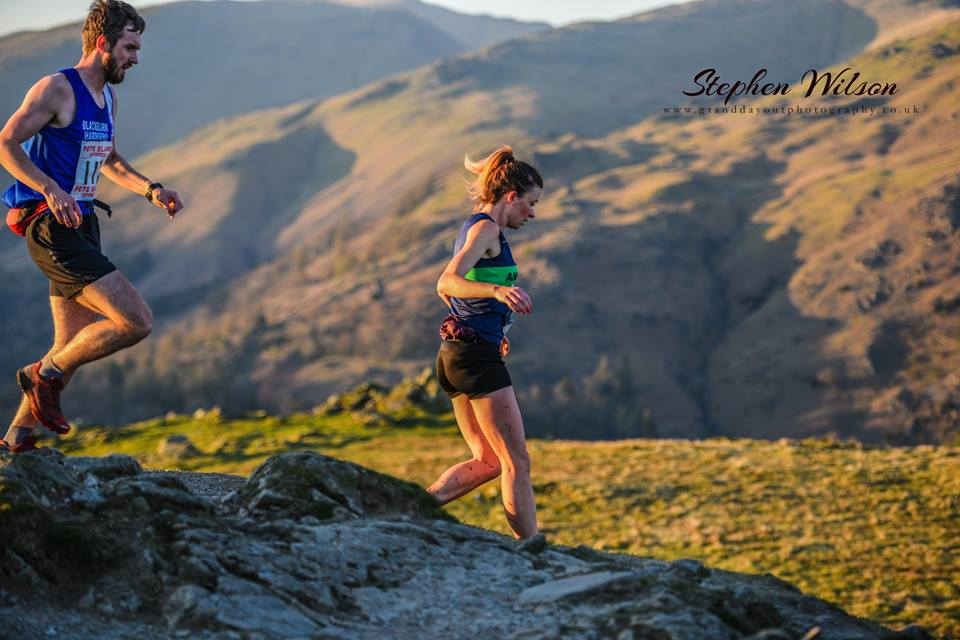 1st & 2nd for Joanne and Janine – Early season Throws with Tony – Loughrigg Fell Race with John – Andrew in Majorca – New 10k PB for Paul